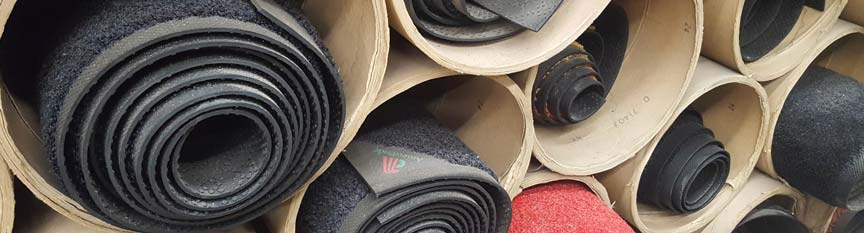 Image of mats stacked on top of each other