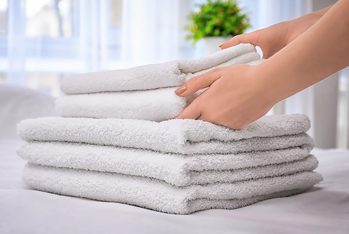image of stack of towels
