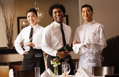 Image of waiters