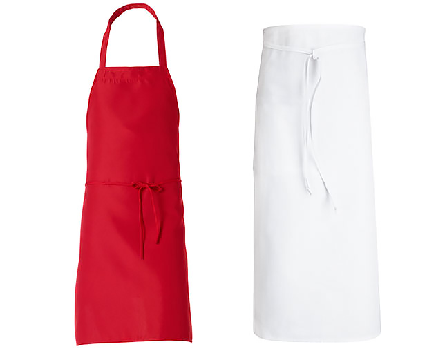Image of restaurant apron